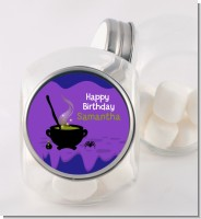 Cauldron & Potions - Personalized Birthday Party Candy Jar