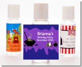 Cauldron & Potions - Personalized Birthday Party Hand Sanitizers Favors