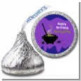 Cauldron & Potions - Hershey Kiss Birthday Party Sticker Labels thumbnail