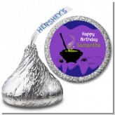 Cauldron & Potions - Hershey Kiss Birthday Party Sticker Labels