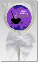 Cauldron & Potions - Personalized Birthday Party Lollipop Favors
