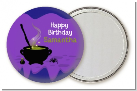Cauldron & Potions - Personalized Birthday Party Pocket Mirror Favors