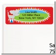 Circus Elephant - Birthday Party Return Address Labels thumbnail