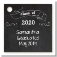 Chalkboard Celebration - Personalized Graduation Party Card Stock Favor Tags thumbnail
