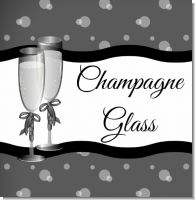 Champagne Glasses Bridal Theme
