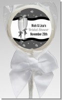 Champagne Glasses - Personalized Bridal Shower Lollipop Favors