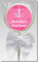 Chandelier - Personalized Bridal Shower Lollipop Favors