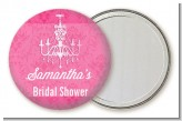 Chandelier - Personalized Bridal Shower Pocket Mirror Favors