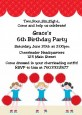 Cheerleader - Birthday Party Invitations thumbnail