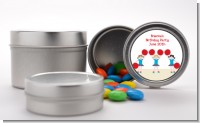 Cheerleader - Custom Birthday Party Favor Tins