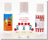 Cheerleader - Personalized Birthday Party Hand Sanitizers Favors