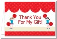 Cheerleader - Birthday Party Thank You Cards thumbnail