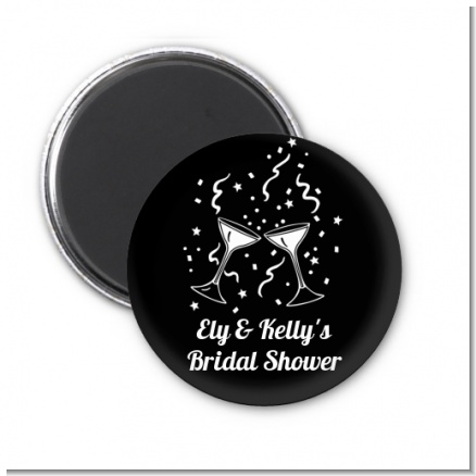 Cheers - Personalized Bridal Shower Magnet Favors
