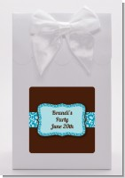 Cheetah Print Blue - Birthday Party Goodie Bags