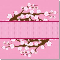 Cherry Blossom Birthday Party Theme