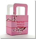 Cherry Blossom - Personalized Baby Shower Favor Boxes