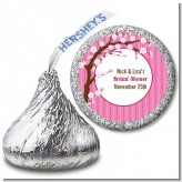 Cherry Blossom - Hershey Kiss Baby Shower Sticker Labels