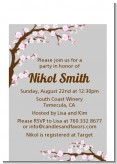 Cherry Blossom - Baby Shower Petite Invitations