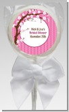 Cherry Blossom - Personalized Baby Shower Lollipop Favors