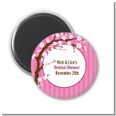Cherry Blossom - Personalized Baby Shower Magnet Favors