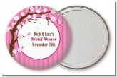 Cherry Blossom - Personalized Bridal Shower Pocket Mirror Favors
