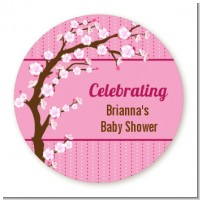 Cherry Blossom - Personalized Baby Shower Table Confetti