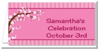 Cherry Blossom - Personalized Baby Shower Place Cards