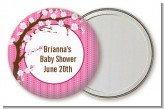 Cherry Blossom - Personalized Baby Shower Pocket Mirror Favors
