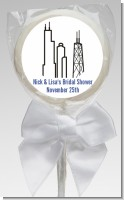 Chicago - Personalized Bridal Shower Lollipop Favors