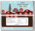 Chicago Skyline - Personalized Bridal Shower Candy Bar Wrappers thumbnail