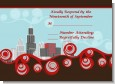 Chicago Skyline - Bridal Shower Response Cards thumbnail
