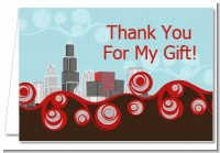 Chicago Skyline - Bridal | Wedding Thank You Cards