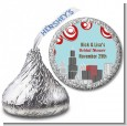 Chicago Skyline - Hershey Kiss Bridal Shower Sticker Labels thumbnail