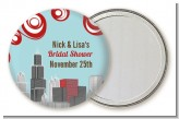 Chicago Skyline - Personalized Bridal Shower Pocket Mirror Favors