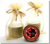 Chinese New Year Dragon - Baby Shower Gold Tin Candle Favors