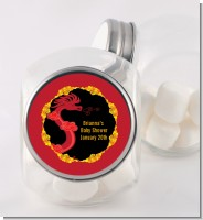 Chinese New Year Dragon - Personalized Baby Shower Candy Jar