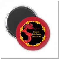 Chinese New Year Dragon - Personalized Baby Shower Magnet Favors