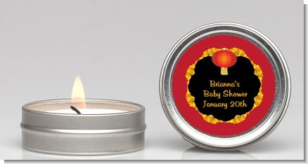 Chinese New Year Lantern - Baby Shower Candle Favors
