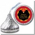 Chinese New Year Lantern - Hershey Kiss Baby Shower Sticker Labels thumbnail