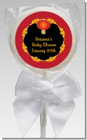 Chinese New Year Lantern - Personalized Baby Shower Lollipop Favors