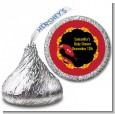 Chinese New Year Snake - Hershey Kiss Baby Shower Sticker Labels thumbnail