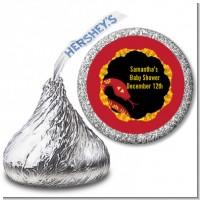 Chinese New Year Snake - Hershey Kiss Baby Shower Sticker Labels