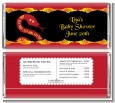 Chinese New Year Snake - Personalized Baby Shower Candy Bar Wrappers thumbnail