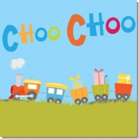 Choo Choo Train Baby Shower Theme