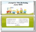 Choo Choo Train - Personalized Birthday Party Candy Bar Wrappers thumbnail