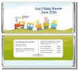 Choo Choo Train - Personalized Baby Shower Candy Bar Wrappers thumbnail