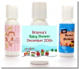 Choo Choo Train Christmas Wonderland - Personalized Christmas Lotion Favors
