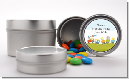 Choo Choo Train - Custom Birthday Party Favor Tins