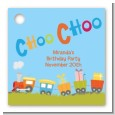 Choo Choo Train - Personalized Birthday Party Card Stock Favor Tags thumbnail