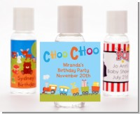 Choo Choo Train - Personalized Baby Shower Hand Sanitizers Favors